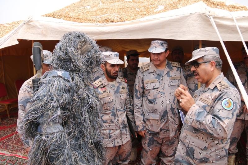 بالصور.. الفريق البلوي يتفقد قوات حرس الحدود في 3 قطاعات استراتيجية