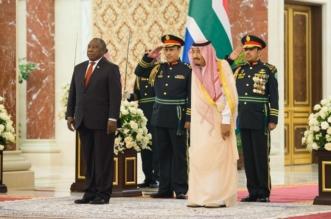الملك يستقبل رئيس جنوب أفريقيا ويقيم مأدبة غداء تكريماً له - المواطن