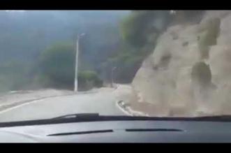 بالفيديو.. سائق يوثق لحظة تعرضه لحادث سير مروع - المواطن