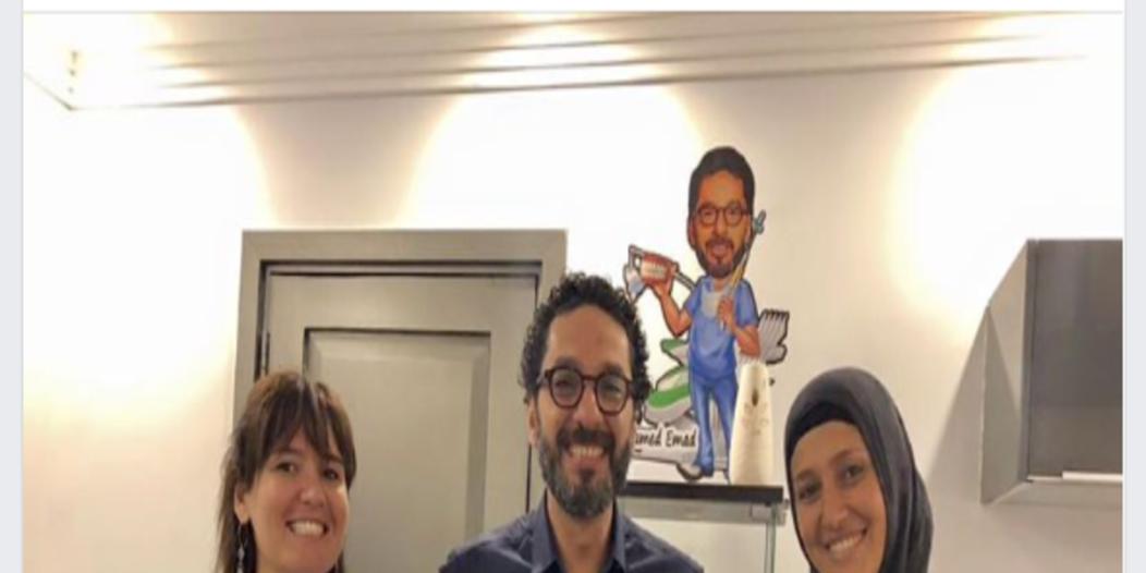 حلا شيحة بلا نقاب بعد زواج معز مسعود من شيري عادل