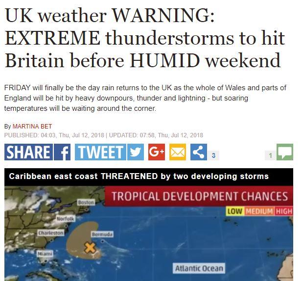 بريطانيا تنتظر كارثة طبيعية غدًا.. تحذيرات من عواصف رعدية غير عادية - المواطن