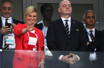 رئيسة كرواتيا .. هذا عمرها الحقيقي وابنها يحمل اسم نجم المنتخب - المواطن