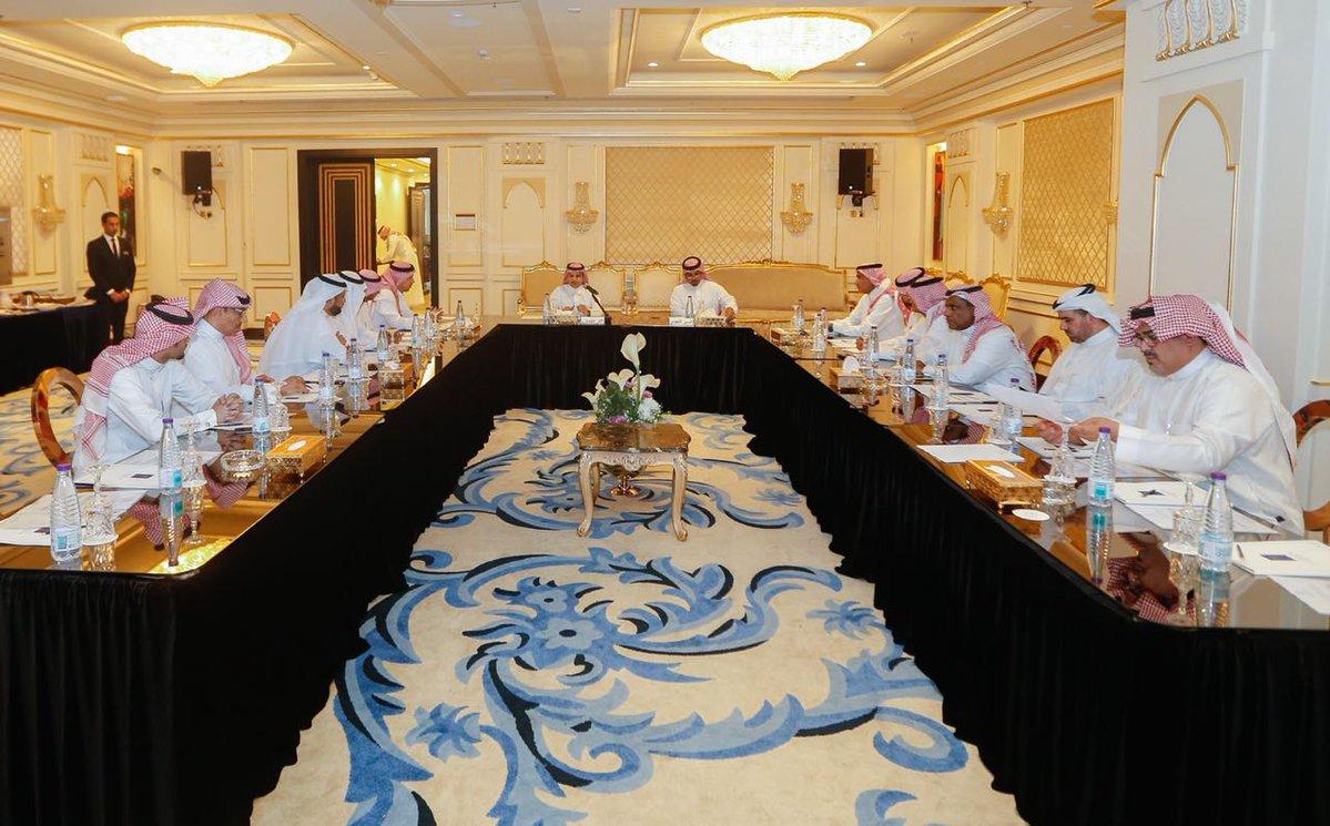 بحضور آل معمر.. هُنا تفاصيل اجتماع رابطة دوري الأمير محمد بن سلمان