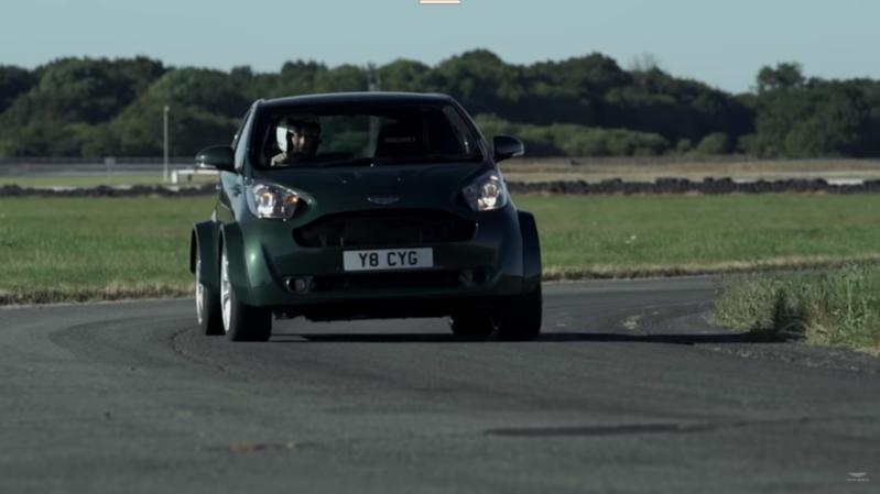 شاهد.. أستون مارتن تطور سيارة صغيرة بقدرات فائقة