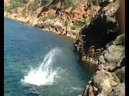 شاهد.. سقطت عليه الصخور أثناء السباحة ونجا بأعجوبة - المواطن