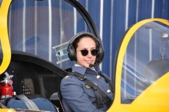 شاهد.. الشيخة عائشة بنت راشد آل خليفة أول بحرينية تقود طائرة مقاتلة - المواطن