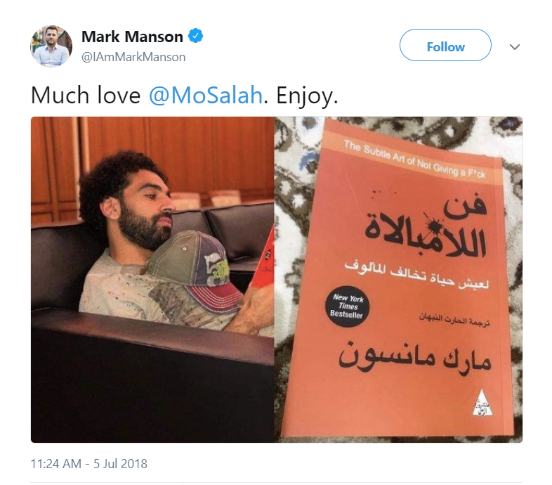 كتاب فن اللامبالاة محمد صلاح