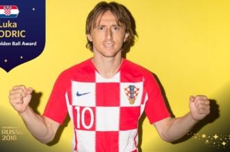 مودريتش يحصد جائزة أفضل لاعب في المونديال الروسي - المواطن