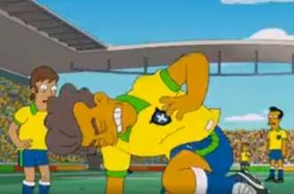 مسلسل سيمسونز يتوقع سقوط نيمار المتكرر في كأس العالم قبل 20 عامًا - المواطن
