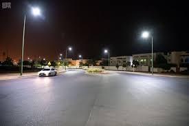 نظام إلكتروني ذكي لإنارة الشوارع بمدينة ينبع الصناعية