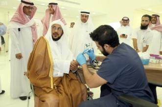 بالصور.. وزير الشؤون الإسلامية يدشن حملة التبرع بالدم للجنود المرابطين - المواطن