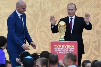 غنائم غرق فيها فلاديمير بوتين بعد استضافة كأس العالم 2018 - المواطن
