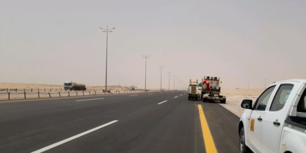 وزارة النقل تستخدم عدة تقنيات لمسح وتقييم الطرق هذه أبرزها