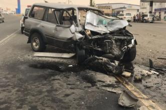 3 حوادث متفرقة في عسير توقع 20 مصابًا - المواطن