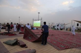 بالصور.. هيئة عسير تفعِّل المصلى المتنقل بحديقة مطار أبها - المواطن