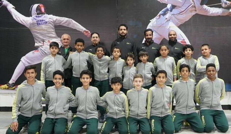 أخضر المبارزة يبدأ المرحلة الثانية من معسكر الرياض