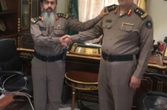 الناهسي إلى رتبة عقيد بمدني خميس مشيط - المواطن