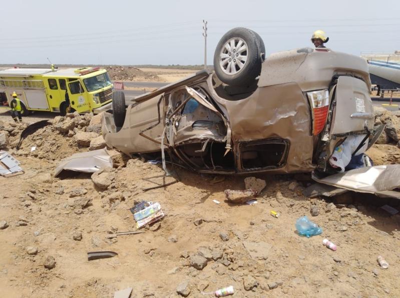 حادث انقلاب يخلف 3 وفيات و4 إصابات في بالبرك
