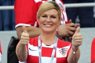 رئيسة كرواتيا: مليون تأشيرة سياحية مجانية في حال الفوز بكأس العالم - المواطن