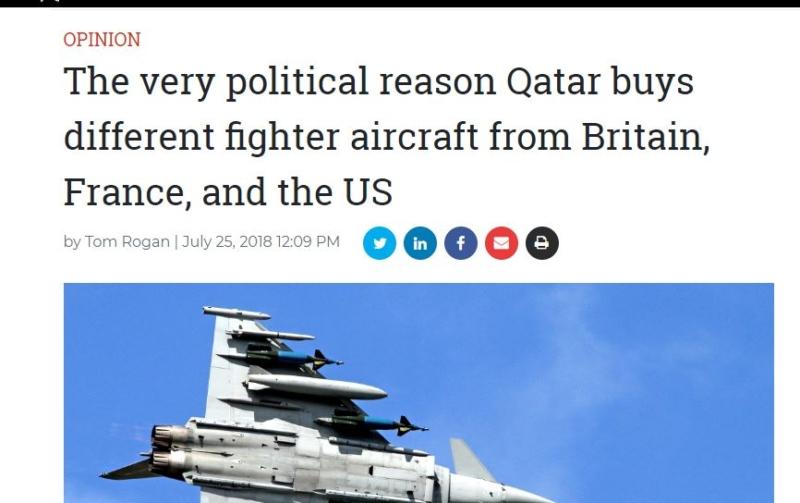 السعودية اليوم – كاتب أمريكي: شراء قطر طائرات التايفون حماقة سياسية لهذه الأسباب