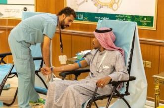 معكم صفاً واحداً حملة للتبرع بالدم لجنودنا البواسل - المواطن
