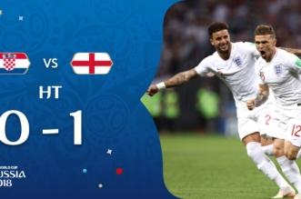 Croatia تتأخر بهدف نظيف أمام إنجلترا في الشوط الأول - المواطن