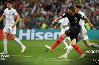 Croatia تتقدم على إنجلترا بتسديدة ماندزوكيتش - المواطن