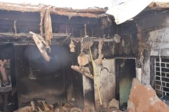 بالصور.. وفاة طفلتين وإصابة امرأة وطفلة في حريق مروع بتبوك - المواطن