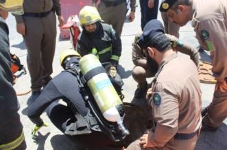 وفاة عاملين احتجزا داخل بركة صرف صحي في رفحاء - المواطن