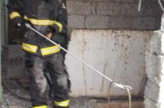 ثعبان في خزان مياه منزلي بالمجاردة.. شاهد كيف استخرجه المدني؟ - المواطن