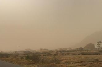 بالصور.. غبار كثيف يضرب محافظات عسير والحرارة تلامس 40 درجة مئوية - المواطن