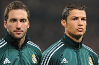Gonzalo Higuain and Ronaldo