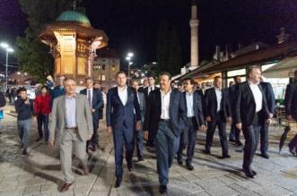 بالصور.. الرئيس البوسني يتولى الإرشاد السياحي لسلطان بن سلمان في سراييفو - المواطن