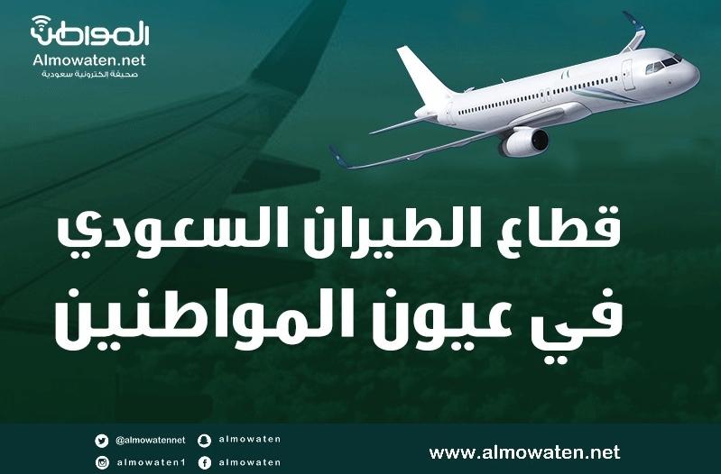 """موشن جرافيك """"المواطن"""" سلبيات قطاع الطيران السعودي ومقترحات التطوير"""