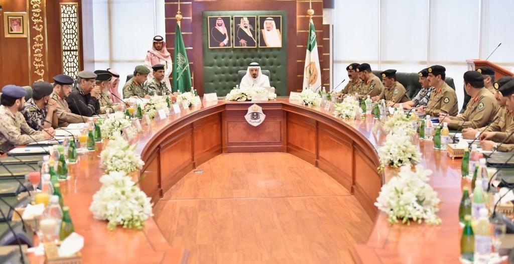 اللجنة الأمنية للحج تناقش تنفيذ الخطط المعتمدة