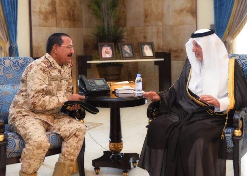 الفيصل يهنئ اللواء العنزي بتعيينه مساعداً لوكيل الحرس لوطني