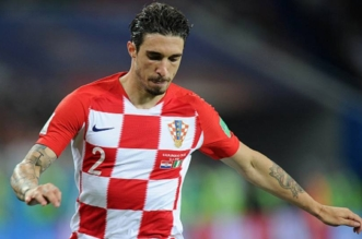 sime vrsaljko of croatia during the 2018 fifa world cup russia group d match between croatia and nigeria at kaliningrad stadium on june 16 2018 in kaliningrad russia 1ib9vvld00gy51110f9a7aat48