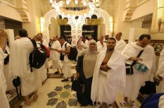 بالصور.. اكتمال وصول 1300 حاج وحاجة من ضيوف خادم الحرمين - المواطن