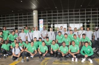 بالصور.. الأخضر للشباب يصل إلى ماليزيا - المواطن