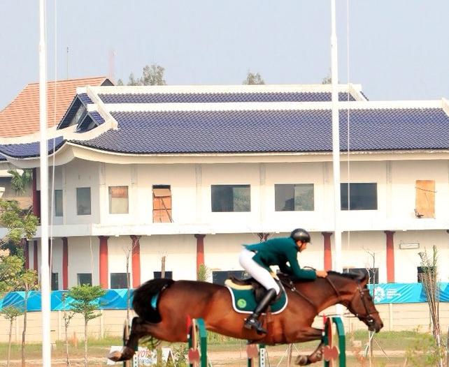 بالصور.. أخضر الفروسية يتوج بذهبية الفرق في الألعاب الآسيوية