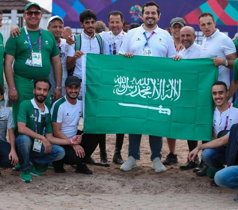 بالصور.. أخضر الفروسية يتوج بذهبية الفرق في الألعاب الآسيوية - المواطن