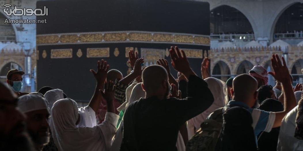 """""""المواطن"""" توثق طواف الوداع .. مشهد مهيب لوحدة المسلمين"""