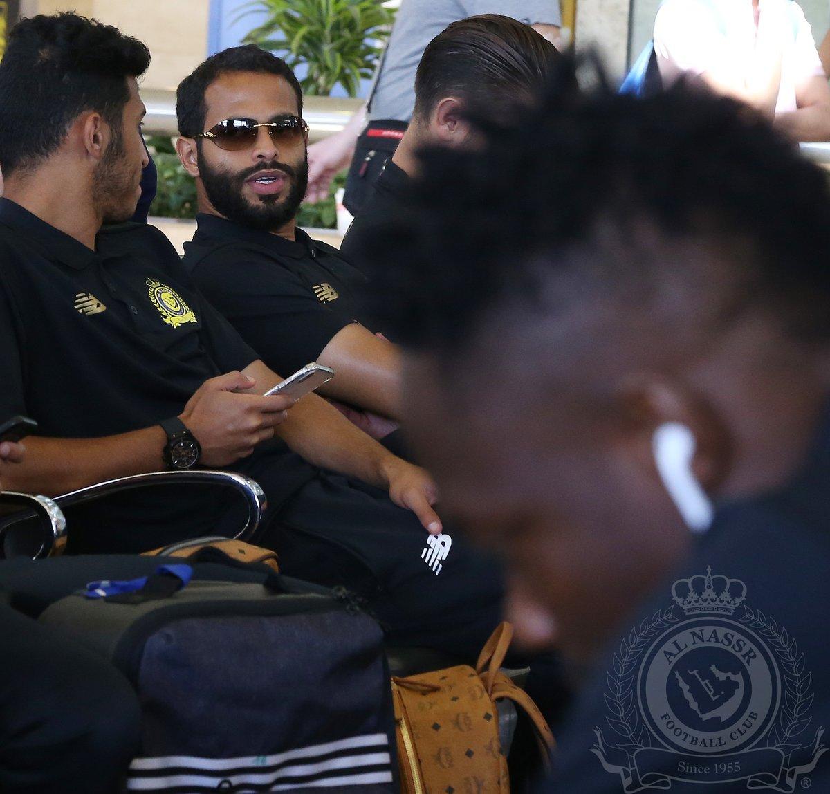 بالصور.. النصر يطير إلى أبوظبي استعدادًا لمباراة الجزيرة