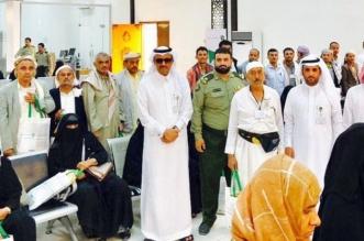 بريد نجران يستقبل ضيوف الملك من الحجاج اليمنيين بالورود والهدايا - المواطن