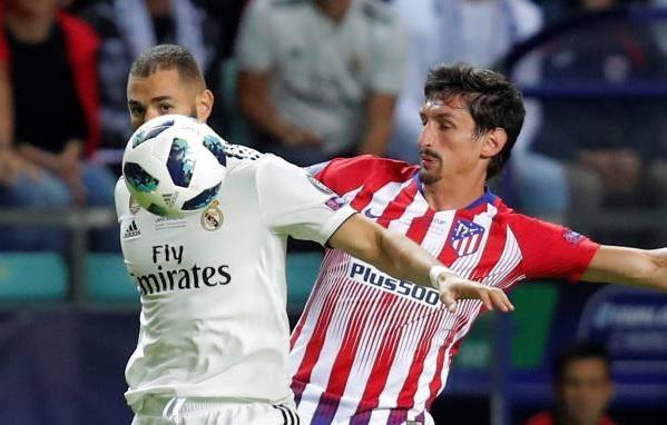 ريال مدريد وأتلتيكو مدريد .. بنزيمة يهز الشباك ويُحقق رقمين مميزين