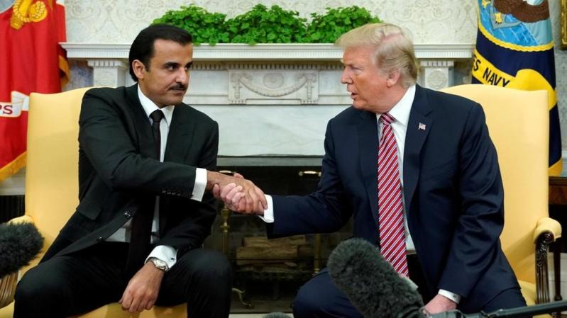 فضيحة قطر.. 16 مليون دولار للتأثير على ترامب وقائمة بها 250 مقربًا من الرئيس