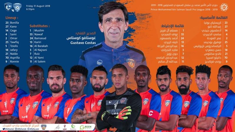 مباراة الهلال ضد الفيحاء .. المدربان يدفعان بالقوة الضاربة - المواطن