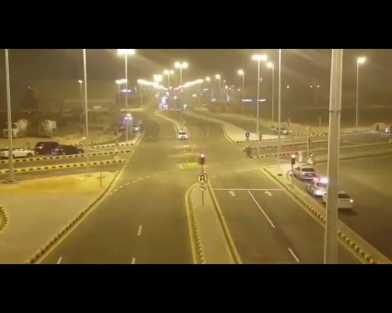 افتتاح تقاطع دوار المملكة للحركة المرورية: الأول من نوعه بحلول غير تقليدية