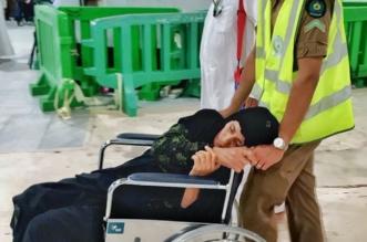 بالصور.. جهود المدني في مساعدة ضيوف الرحمن - المواطن