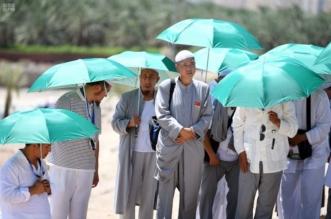حجاج بيت الله الحرام يتوافدون على المدينة المنورة في موسم ما قبل الحج 1